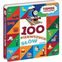 Książki dla dzieci, Tomek i przyjaciele. 100 pierwszych słów - praca zbiorowa (opr. kartonowa)