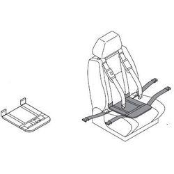 Podkładka udowa z pasem udowym do pasów samochodowych dla niepełnosprawnych CAREVA CROSS IT dzieci, dorośli
