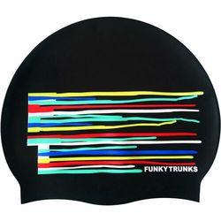 Funky Trunks Silicone Czepek pływacki, kolorowy 2020 Czepki pływackie Przy złożeniu zamówienia do godziny 16 ( od Pon. do Pt., wszystkie metody płatności z wyjątkiem przelewu bankowego), wysyłka odbędzie się tego samego dnia.