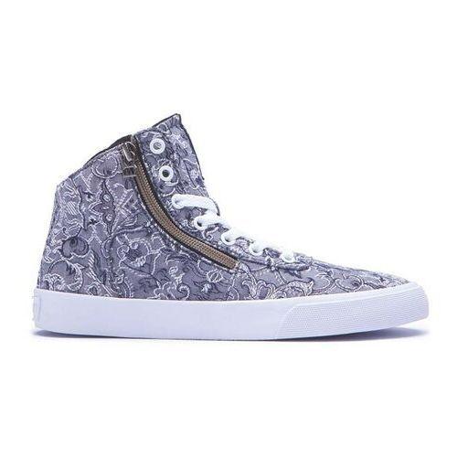 Damskie obuwie sportowe, buty SUPRA - Womens Cuttler Grey/Pattern-White (GPA) rozmiar: 37.5