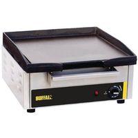 Grille gastronomiczne, Płyta grillowa elektryczna gładka nastawna | 380x385mm | 2800W