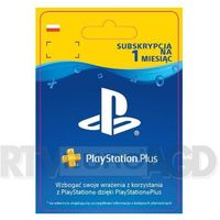 Kody i karty przedpłacone, Sony Subskrypcja PlayStation Plus 1 m-ce [kod aktywacyjny]