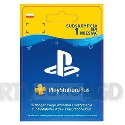 Sony Subskrypcja PlayStation Plus 1 m-ce [kod aktywacyjny]