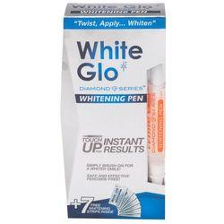 White Glo Diamond Series Whitening Pen zestaw Pisak wybielający 2,5 ml + Wybielające paski do zębów 7 szt unisex