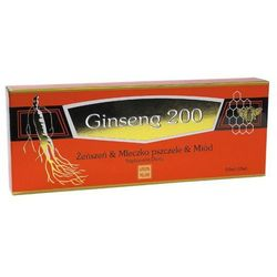 Ginseng 200 Żeńszeń & Mlecz. pszczele płyn - 10 fiol.a 10ml