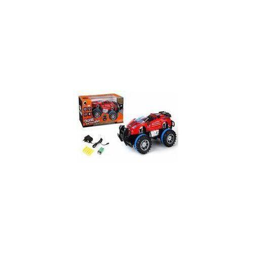Pozostałe zabawki, Auto terenowe na pilota ze światłem i dźwiękiem czerwony