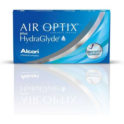 Soczewki kontaktowe, Air Optix Plus HydraGlyde - 3 sztuki w blistrach