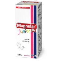 Witaminy i minerały, MAGNEFAR B6 Junior płyn 120ml
