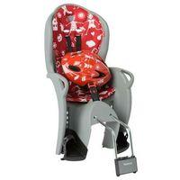 Foteliki rowerowe, Fotelik rowerowy czerwony HAMAX Kiss + kask