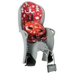 Fotelik rowerowy czerwony HAMAX Kiss + kask