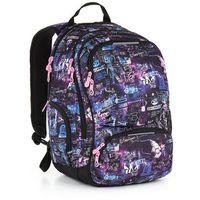 Tornistry i plecaki szkolne, Plecak młodzieżowy Topgal HIT 889 I - Violet