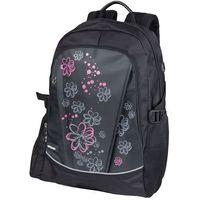 Tornistry i plecaki szkolne, Easy, Plecak szkolno-sportowy, Kwiaty