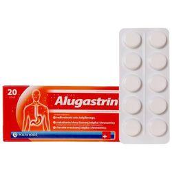 Alugastrin tabl.do rozgr.i żucia 0,34 g 20 tabl. (1 blist.po 20 szt.)