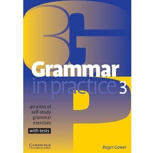 Książki do nauki języka, Grammar in Practice 3 (opr. miękka)
