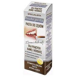BIAŁA PERŁA Pasta do zębów dla pijących kawę 75ml