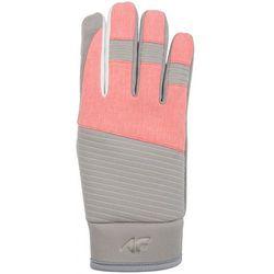 Rękawice narciarskie damskie RED250z - szary jasny