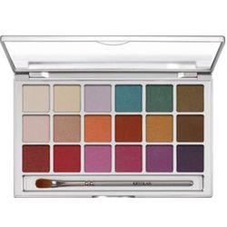 Kryolan EYE SHADOW VARIETY 18 COLORS (V1) Paleta 18 kolorów cieni do powiek - V1 (5318)
