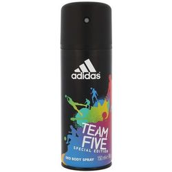 Adidas Team Five Men, 150 ml. Dezodorant spray - Adidas