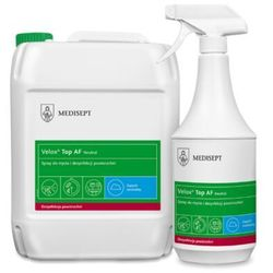 Velox Top AF Neutral Medisept 5L - Spray do mycia i dezynfekcji powierzchni