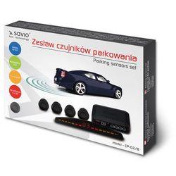 SAVIO Czujnik parkowania, wyświetlacz Savio CP-02/B, czarny