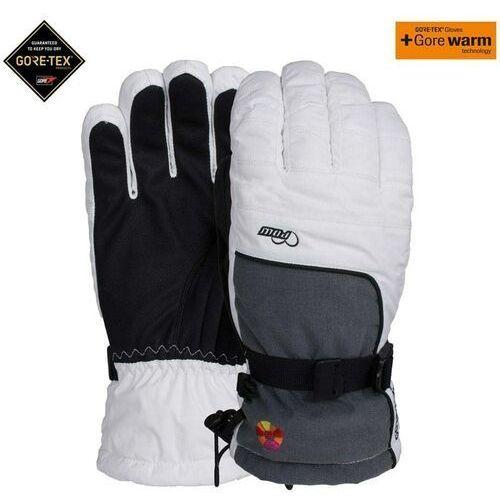 Pozostała odzież męska, rękawice POW - Ws Falon Gtx Glove +Warm White (B4B (WH)