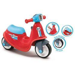 Smoby Czerwony jeździk skuter dla dzieci ciche koła 721003