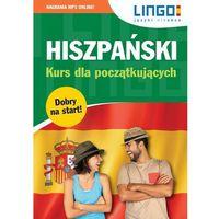 Książki dla dzieci, Hiszpański kurs dla początkujących książka + cdmp3 (opr. miękka)