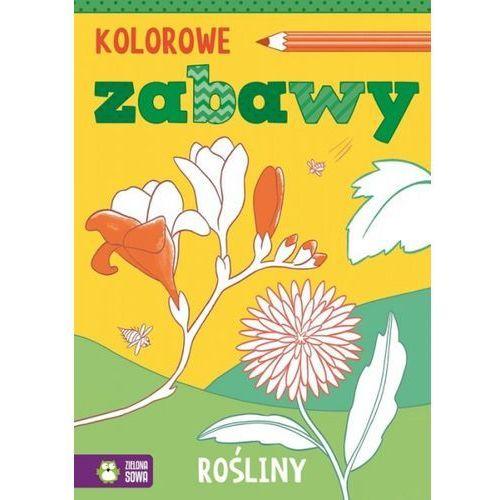 Książki dla dzieci, Kolorowe zabawy Rośliny (opr. miękka)