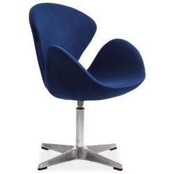Nowoczesny fotel DEVON blue