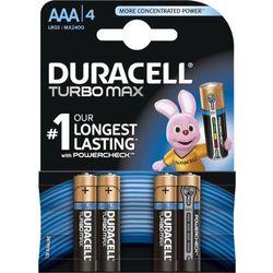 Baterie Alkaliczne Duracell Turbo Max AAA (paluszki małe) - 4szt.