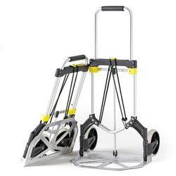 Taczka transportowa, aluminium, 90 kg, 980x500x450 mm