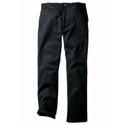 Spodnie ocieplane bonprix czarny