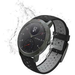 Withings Activite Steel HR Sport - smartwatch z pomiarem pulsu (czarny)