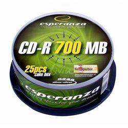 CD-R ESPERANZA [ cake box 25 | 700MB | 52x |