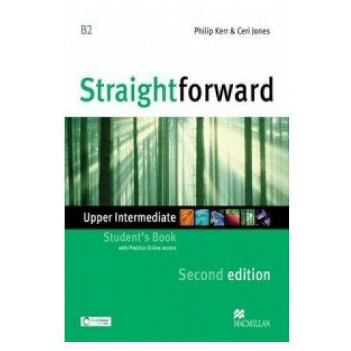 Książki do nauki języka, Straightforward Upper Intermediate 2nd Edition Książka Ucznia Plus Web Zone Access (opr. miękka)