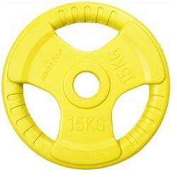 Obciążenie SPORTOP FI 51 Żółty (15 kg)