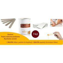 Zestaw: pasta cukrowa 1000g + paski + szpatuła