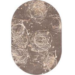 Dywan Agnella Alabaster Kianta W Grafit (owal) 160x240