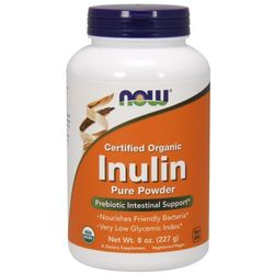 NOW FOODS Inulin Pure Powder - 227 grams
