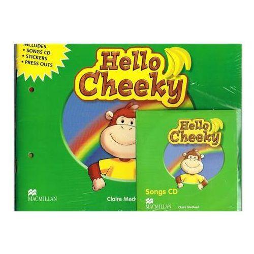 Książki do nauki języka, Hello Cheeky Książka Ucznia Plus Multi-ROM (opr. miękka)