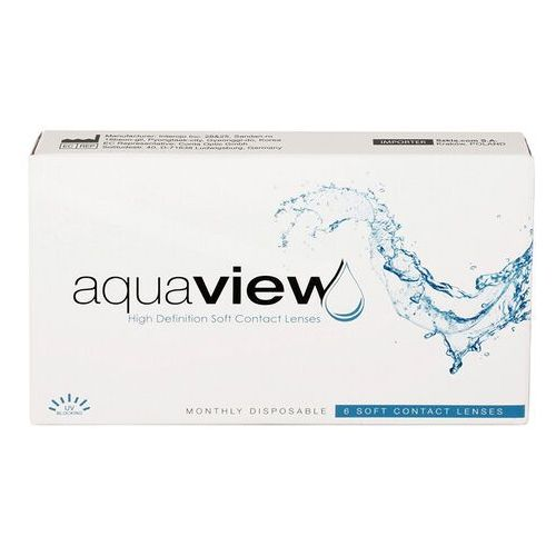 Soczewki kontaktowe, AquaView Monthly 1 szt.