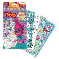 Kreatywne dla dzieci, Zestaw kreatywny Trolls 358688 - Starpak