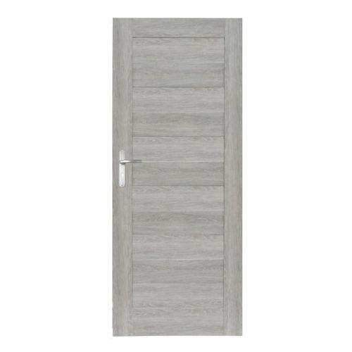 Drzwi wewnętrzne, Drzwi pełne Trame 60 prawe dąb szary