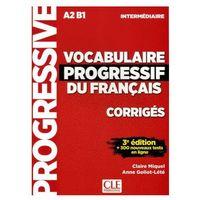 Książki do nauki języka, Vocabulaire progressif intermediare klucz 3ed A2 B1 - Miquel Claire, Goliot-Lete Anne (opr. kartonowa)