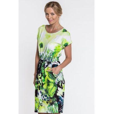 Sukienka w kwiatowy deseń marki Metafora