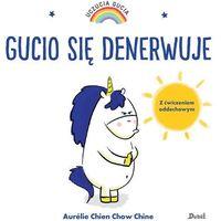 Książki dla dzieci, Gucio się denerwuje (opr. twarda)