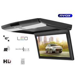 """NVOX VR1107A BL Monitor podwieszany podsufitowy LED 10"""" HD AV IR"""