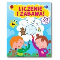 Książki dla dzieci, LICZENIE I ZABAWA BR FK 9788327424822 + zakładka do książki GRATIS (opr. broszurowa)