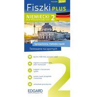 Książki do nauki języka, Niemiecki Fiszki PLUS dloa początkujących 2 (opr. kartonowa)
