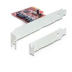 Delock Karta PCI Express->2xSATA Internal DARMOWA DOSTAWA DO 400 SALONÓW !!